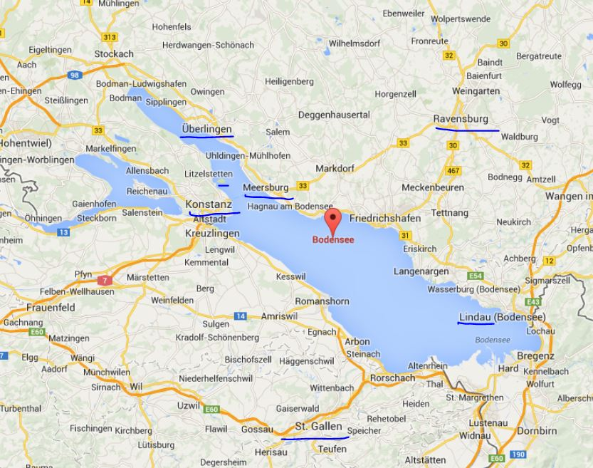 אגם קונסטנץ | Lake Constance