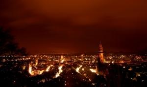 הקסם של פרייבורג בלילה