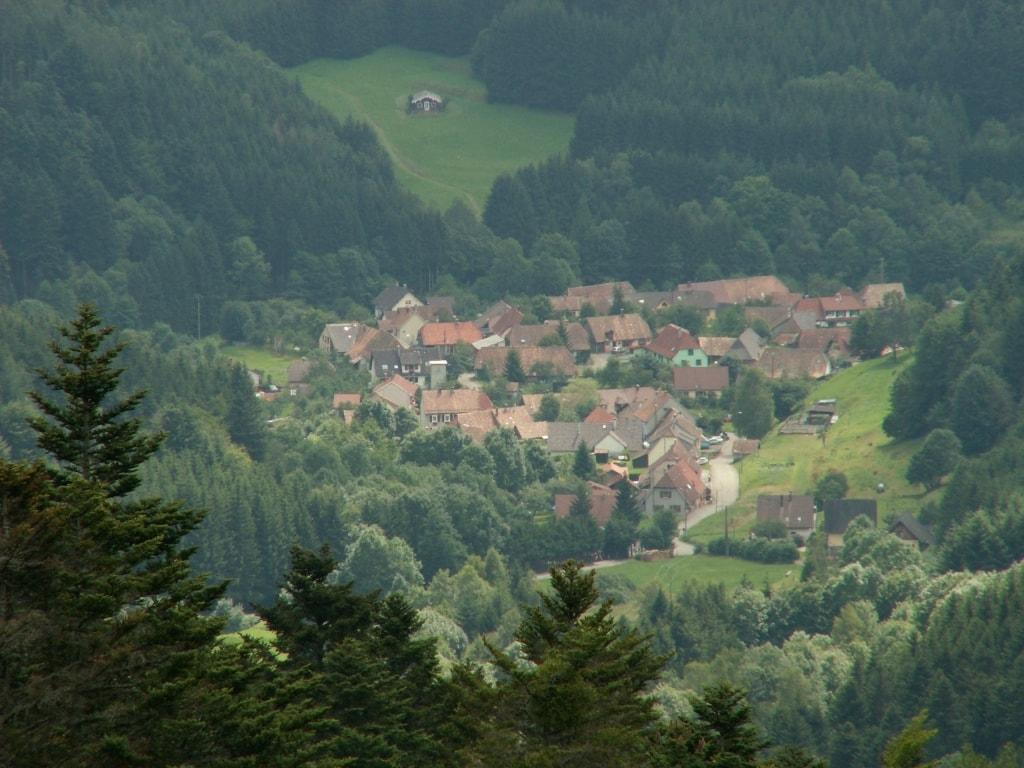 הנוף הכפרי באלזס