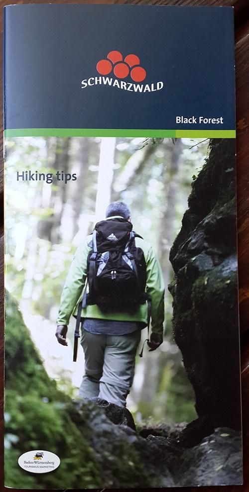 חוברת מידע לטיולים רגליים ביער השחור