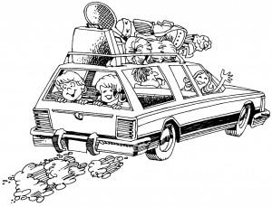 vacation-car טיולי קרוואנים למשפחות ביער השחור