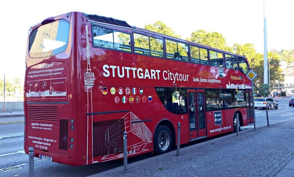 אוטובוס בכרטיס שטוטגרט