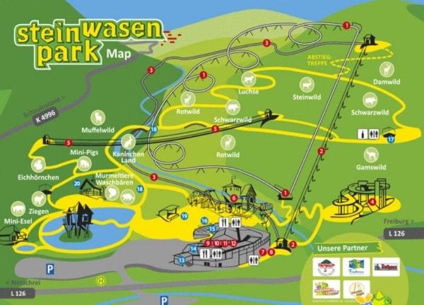 מפת פארק שטיינוואסן